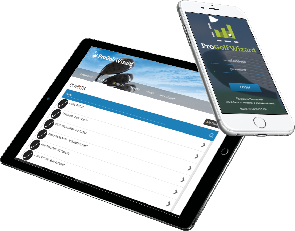 ProGolfWizard and MyGolfWizard run on most PCs, Tablets and Smart Phones